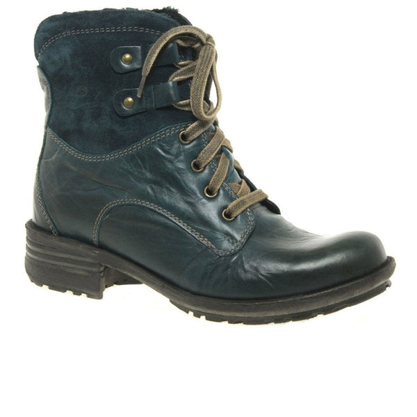 Josef Seibel Sandra 64 Boot - Aqua - Lucks of Louth