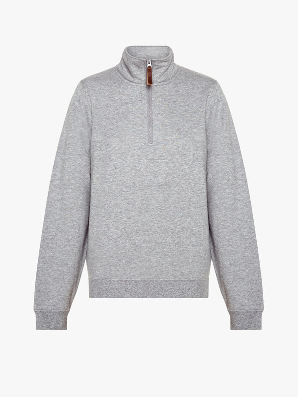 RM Williams Morisset Sweatshirt - Grey Marl - Lucks of Louth
