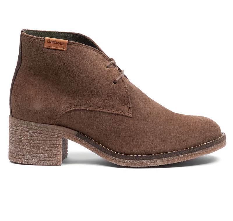 Barbour Edele Ladies Boots - Taupe Suede - Lucks of Louth