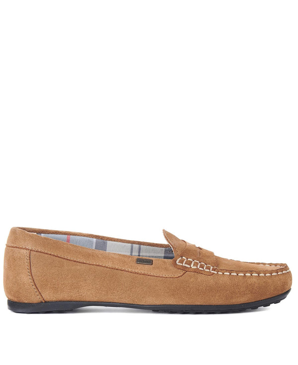 Barbour Renne Loafers - Sand Suede - Lucks of Louth