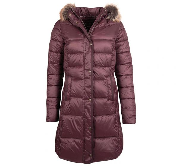 Barbour Jameson Quilted Jacket - Blackberry - Lucks of Louth