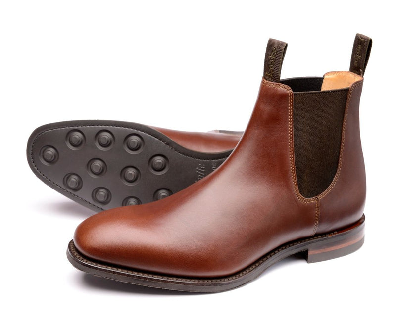 Loake Chatsworth Boot - Brown - Lucks of Louth