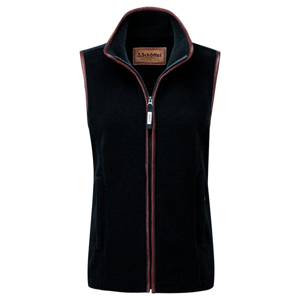 Schoffel Lyndon Fleece Gilet - Gunmetal - Lucks of Louth