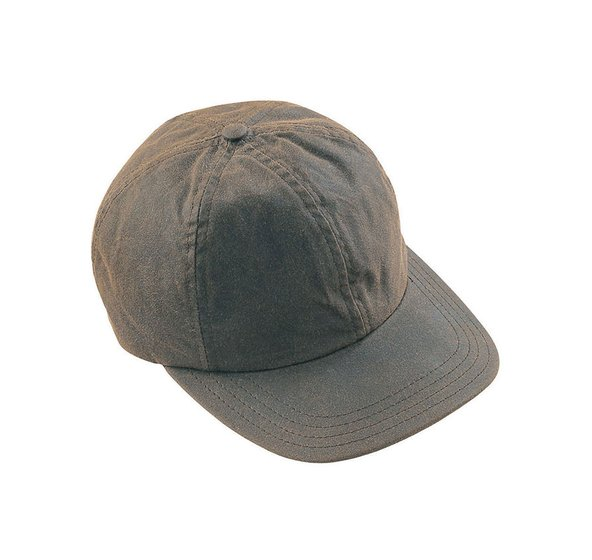 Barbour Wax Sports Cap - Olive - Lucks of Louth