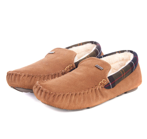 Barbour Monty Slippers - Camel - Lucks of Louth