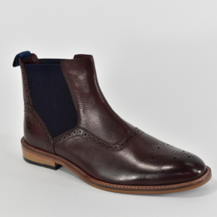 Cavani Moriarty Boot - Burgundy - Lucks of Louth