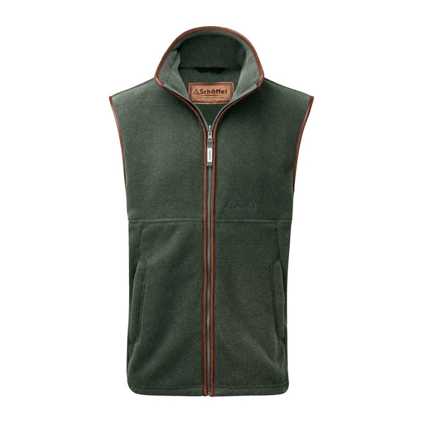 Schoffel Oakham Fleece Gilet - Cedar Green - Lucks of Louth