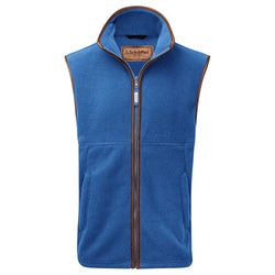 Schoffel Oakham Fleece Gilet - Cobalt - Lucks of Louth
