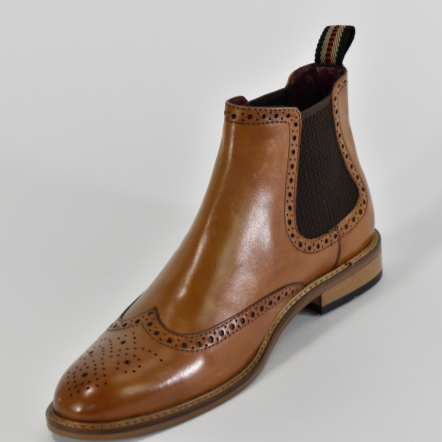 Cavani Porter Boot - Tan - Lucks of Louth