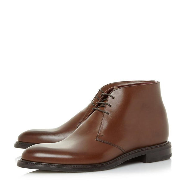 Loake Spirit Calf Chukka Boot - Dark Brown