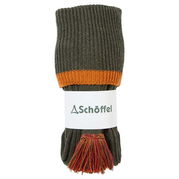 Schoffel Snipe Shooting Sock - Dark Olive - Lucks of Louth