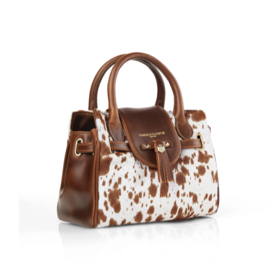 Fairfax & Favor Mini Windsor Bag - Cowhide - Lucks of Louth
