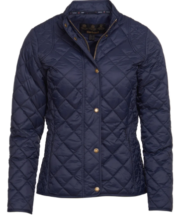 Barbour Elmsworth Quilted Jacket - Navy - Lucks of Louth