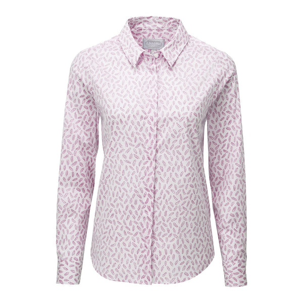 Schoffel Sunningdale Shirt - Barley Raspberry - Lucks of Louth