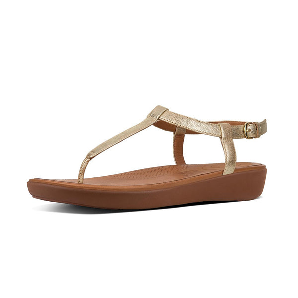 Fitflop Tia Sandal - Pale Gold - Lucks of Louth