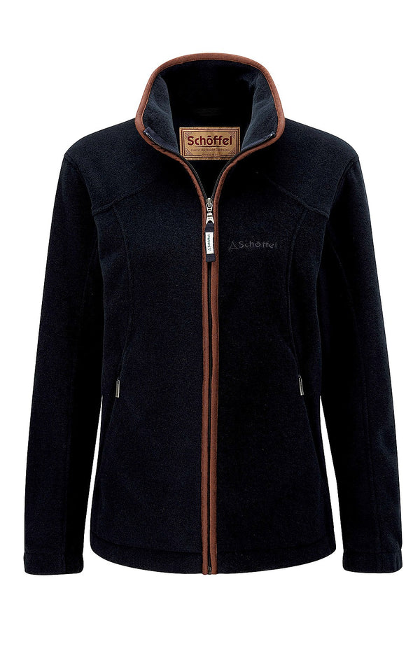 Schoffel Ladies Burley Fleece - Navy - Lucks of Louth