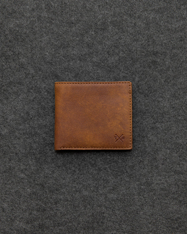 Tumble & Hide Yukon Leather East West Wallet - Brown TH2038 YKN 2 - Lucks of Louth