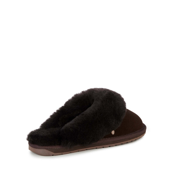 EMU Jolie Slipper - Espresso (Dark Brown) - Lucks of Louth
