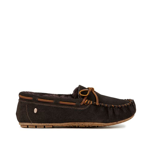 EMU Amity Slipper - Chocolate - Lucks of Louth