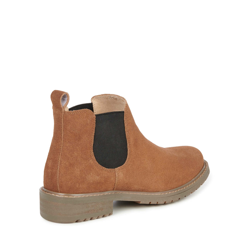 EMU Pinaroo Suede Chelsea Boot - Chestnut - Lucks of Louth