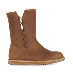 EMU Gravelly Leather Boot - Oak - Lucks of Louth