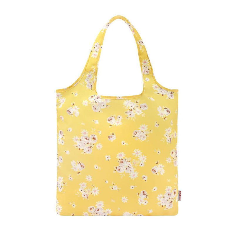 Cath Kidston Daisy Rose Foldaway Shopper - Soft Yellow - Lucks of Louth