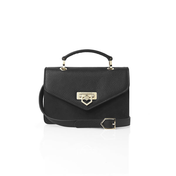 Fairfax & Favor Mini Loxley Handbag - Black - Lucks of Louth