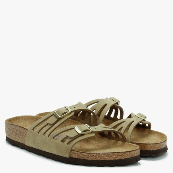 Birkenstock Granada Sandal - Soft Khaki - Lucks of Louth