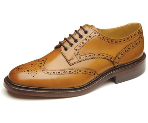 Loake Chester 2 Shoe - Tan - Lucks of Louth