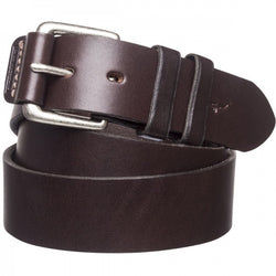 RM Williams Covered Buckle Belt - Chestnut Leather
