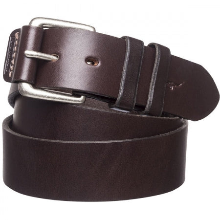 RM Williams Covered Buckle Belt - Chestnut Leather - Lucks of Louth