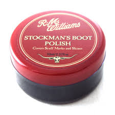 RM Williams Stockman's Boot Polish - Black - Lucks of Louth