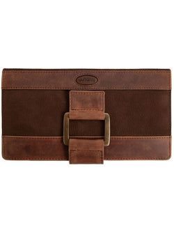 Dubarry Dunbrody Leather Purse - Walnut - Lucks of Louth