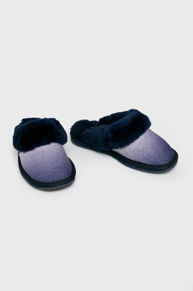 EMU Jolie Wool Slipper - Midnight (Navy) - Lucks of Louth