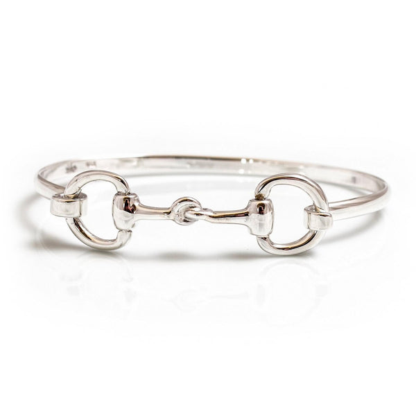 Hiho Silver Sterling Silver Double Snaffle Bracelet - Lucks of Louth