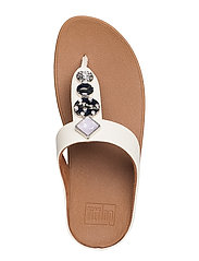 Fitflop Fino Circle Toe-Thongs Sandal - Stone - Lucks of Louth