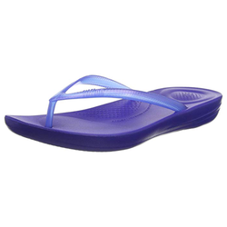 Fitflop IQushion Pearlised Illusion Flipflop - Blue - Lucks of Louth