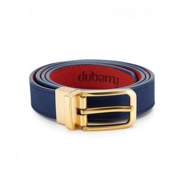 Dubarry Foynes Reversible Belt - Royal Blue/Red - Lucks of Louth