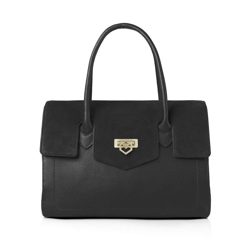 Fairfax & Favor Loxley Handbag - Black - Lucks of Louth