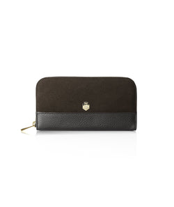 Fairfax & Favor Salisbury Purse - Chocolate