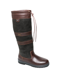 Dubarry Galway Boot-Black/Brown - Lucks of Louth