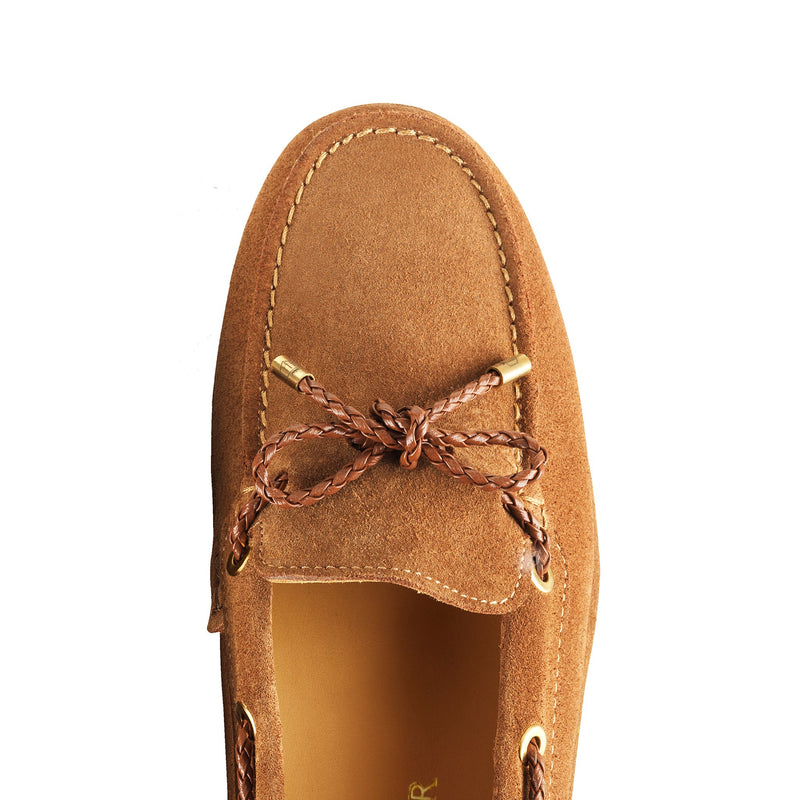 Fairfax & Favor Henley Driving Shoe - Tan - Lucks of Louth