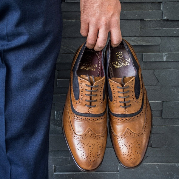 Cavani Harry Signature Shoes - Tan - Lucks of Louth