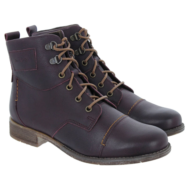 Josef Seibel Sienna 17 Boot - Bordo (Burgundy) - Lucks of Louth
