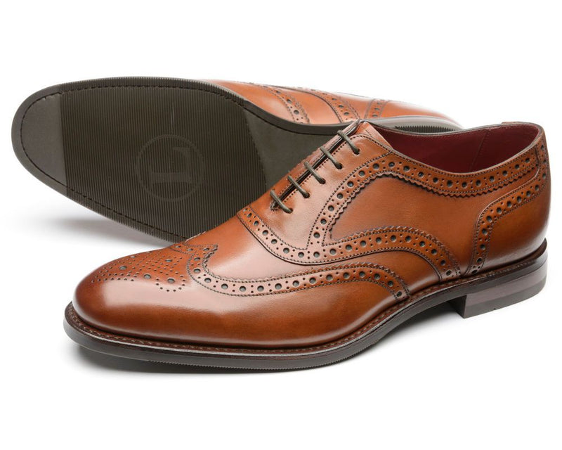 Loake Kerridge T Brogue - Tan - Lucks of Louth