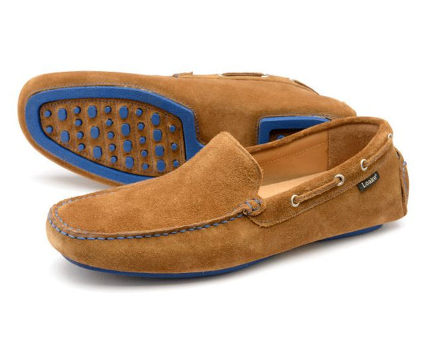Loake Donington - Tan Suede - Lucks of Louth