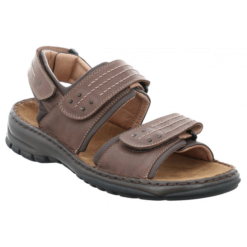 Josef Seibel Firenze Salento Sandals - Moro (Brown) - Lucks of Louth