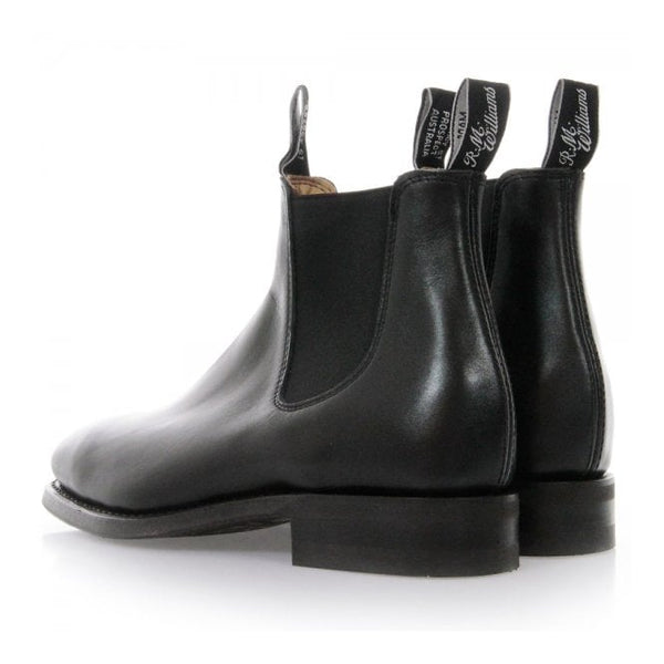 RM Williams Comfort Craftsman Boots (R)- Black - Lucks of Louth