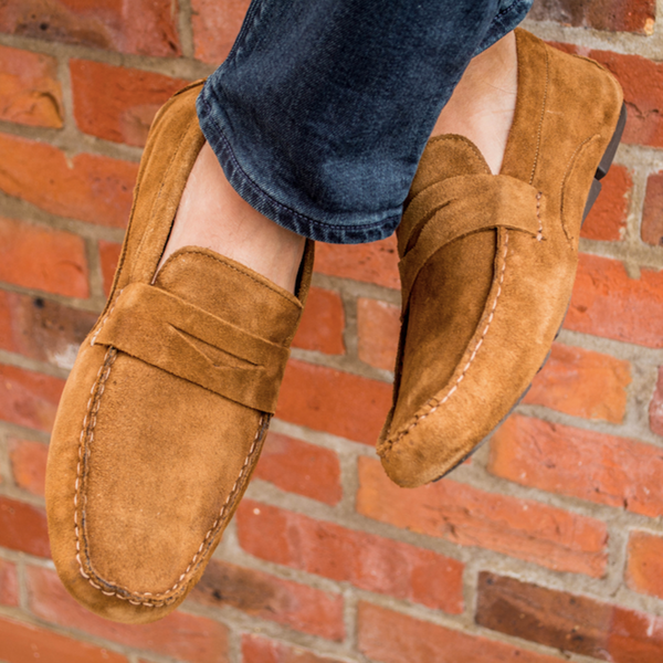 Redtape Cranfield Loafer - Tan Suede - Lucks of Louth