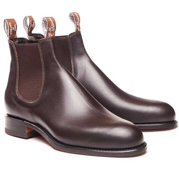 RM Williams Comfort Craftman Yearling Boots - Chestnut